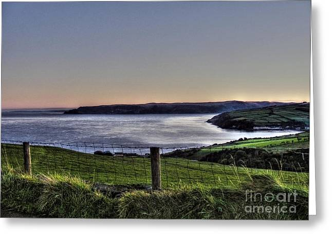Natural Realm Greeting Cards - Lurgan Coast Greeting Card by Nina Ficur Feenan