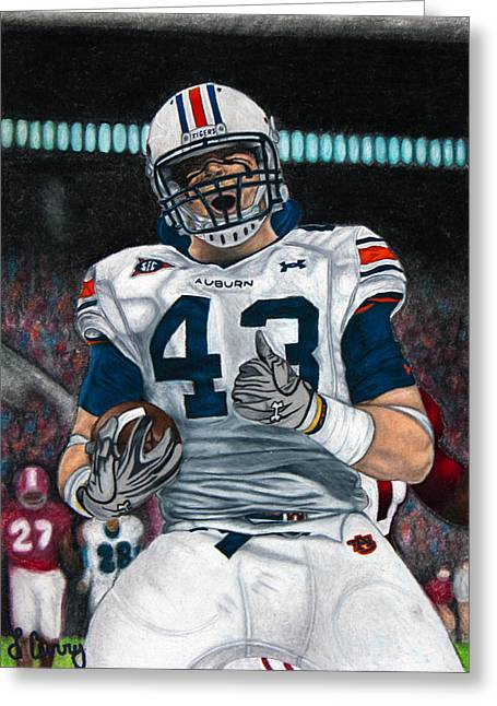 Alabama Drawings Greeting Cards - Lutzie Greeting Card by Lance Curry
