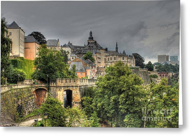 Luxembourg Greeting Cards - Luxembourg Greeting Card by Emily Enz