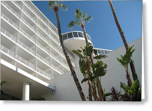 Beverly Hilton Hotel Greeting Cards - Luxury  Greeting Card by Brynn Ditsche