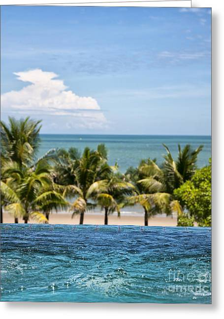 Wellbeing Greeting Cards - Luxury Jacuzzi 04 Greeting Card by Antony McAulay