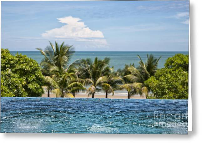 Wellbeing Greeting Cards - Luxury Jacuzzi 05 Greeting Card by Antony McAulay
