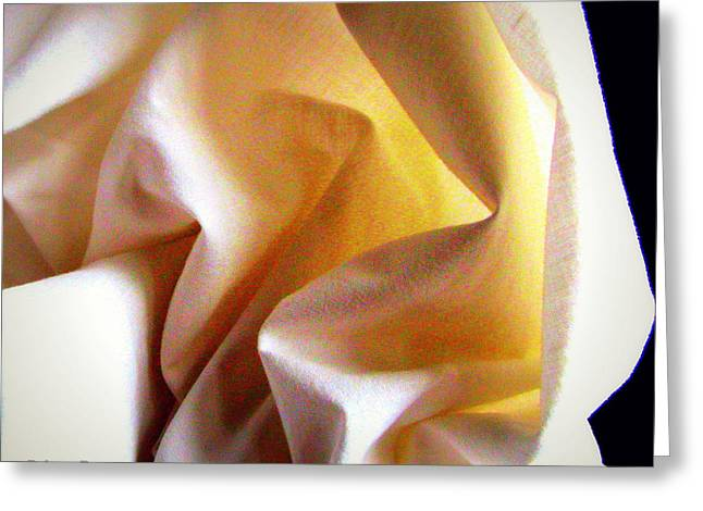 Bedroom Art Greeting Cards - Luz Greeting Card by Art-e Rebeca R