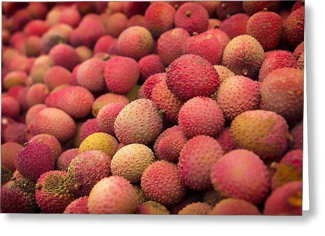 Lychee Greeting Cards - Lychee Greeting Card by Mountain Dreams
