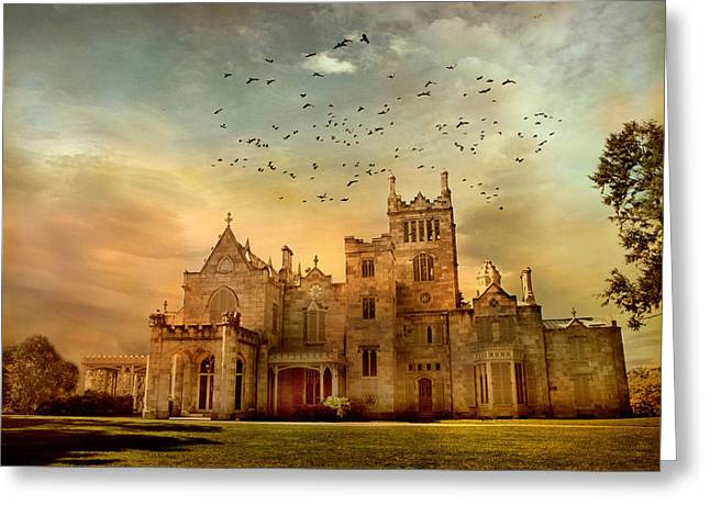Stone Architecture Greeting Cards - Lyndhurst Estate Greeting Card by Jessica Jenney