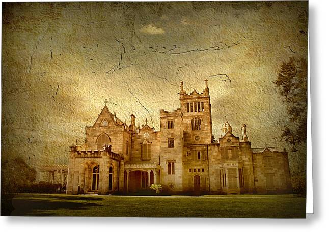 Estate Greeting Cards - Lyndhurst Greeting Card by Jessica Jenney
