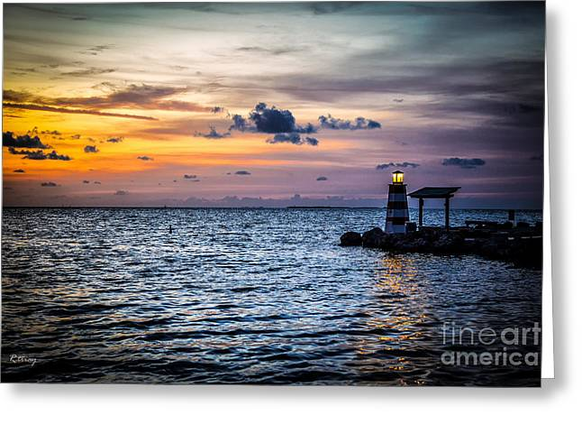 Isla Morada Greeting Cards - Lyrics of Light Greeting Card by Rene Triay Photography