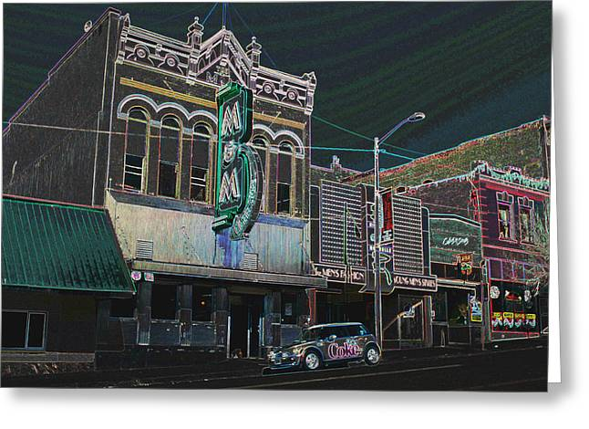 Montana Framed Prints Greeting Cards - M and M Bar Greeting Card by Kevin Bone