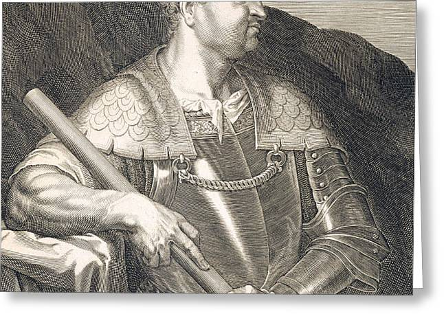 M Silvius Otho Emperor of Rome Greeting Card by Titian