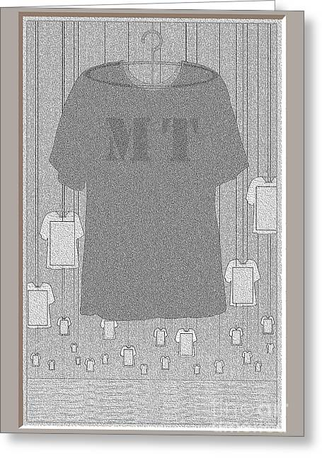 As Far As The Eye Can See Greeting Cards - M T Tee Shirts Greeting Card by Doris Rowe