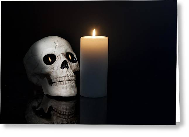 Macabre Photographs Greeting Cards - Macabre Greeting Card by Cecil Fuselier