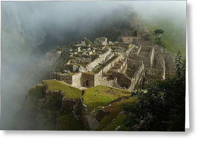 Original Photographs Greeting Cards - Machu Picchu Peru 2 Greeting Card by Xueling Zou