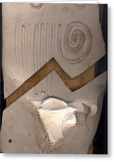 Metaphysics Sculptures Greeting Cards - Machupichu Greeting Card by Ari Nunes