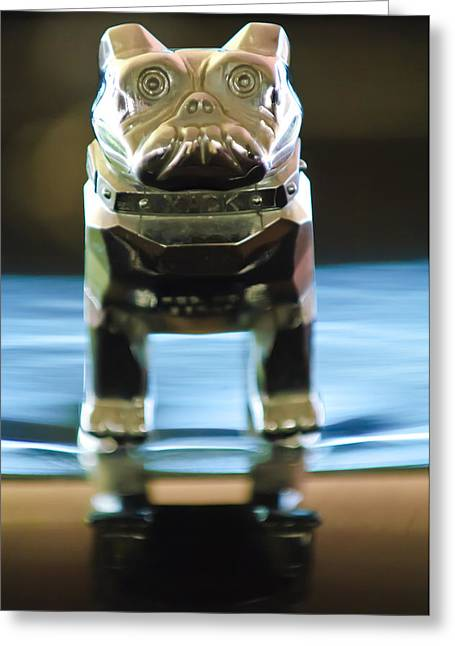 Mack Truck Hood Ornament 2 Greeting Card by Jill Reger