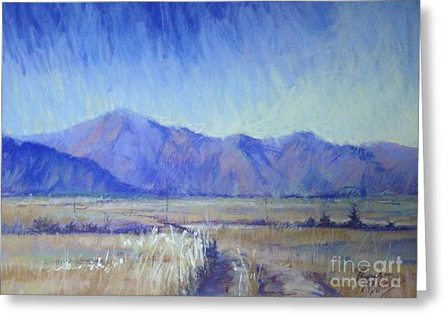 Pathway Pastels Greeting Cards - Mackenzie Country Greeting Card by Pamela Pretty