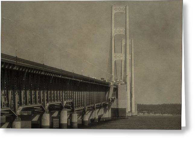 Great Architect Greeting Cards - Mackinac Greeting Card by Dan Sproul