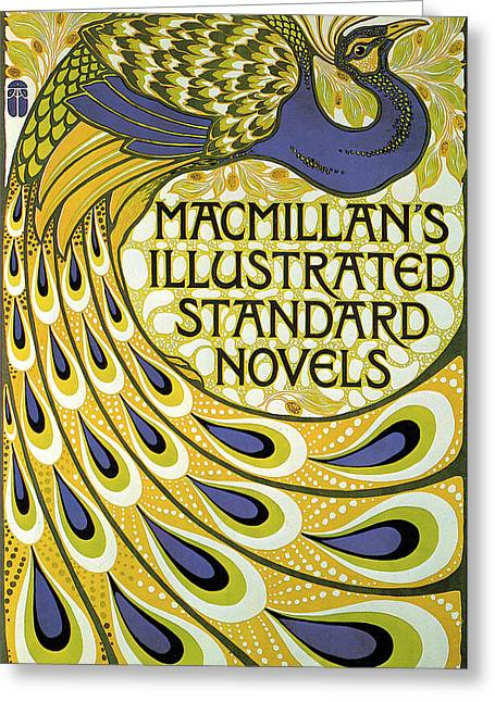 Book Cover Art Greeting Cards - Macmillans Illustrated Standard Novels Greeting Card by A Turbayne