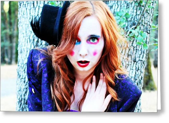 Mad Hatter Photographs Greeting Cards - Mad Hatter Greeting Card by Beth Buckley