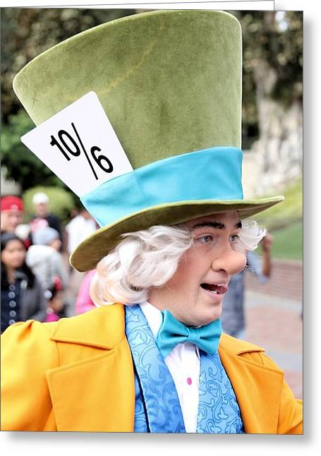 Mad Hatter Photographs Greeting Cards - Mad Hatter II Greeting Card by Kimberly Sokol