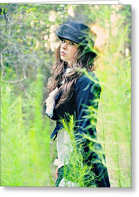 Mad Hatter Photographs Greeting Cards - Mad Hatter Greeting Card by Stephanie Necessary