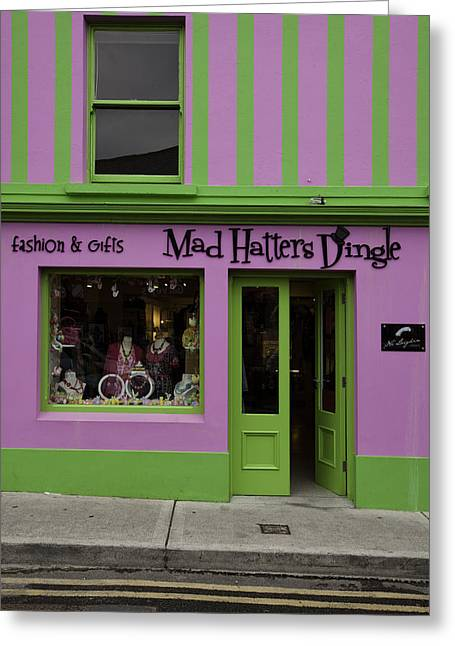 Mad Hatter Greeting Cards - Mad Hatters Dingle Greeting Card by Ruben Vicente