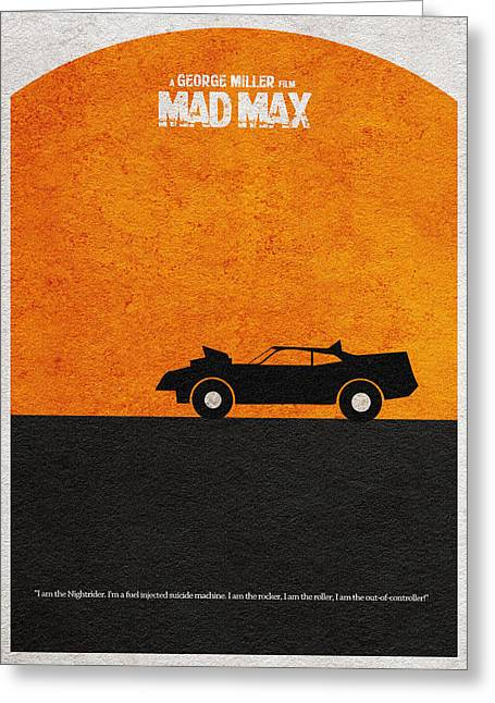 Sunset Posters Greeting Cards - Mad Max Greeting Card by Ayse Deniz