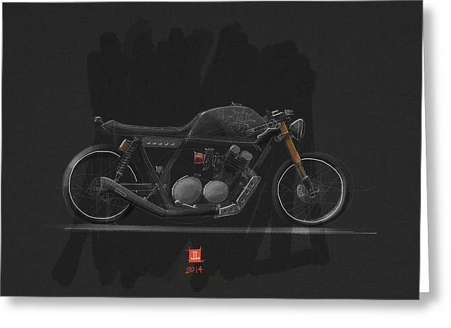 Lacy Digital Greeting Cards - Mad Max Greeting Card by Jeremy Lacy