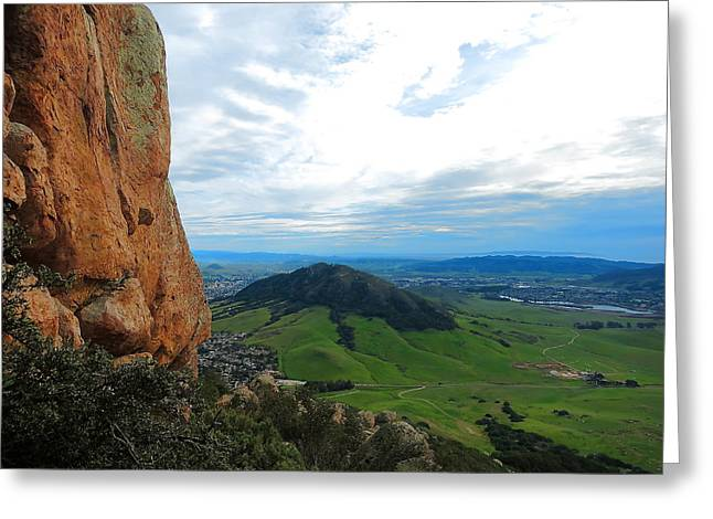 Bishops Peak Greeting Cards - Madonna Greeting Card by Paul Foutz