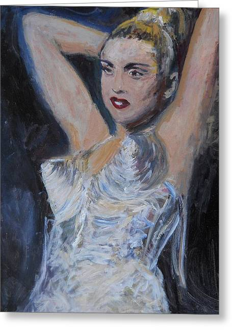 Express Yourself Greeting Cards - Madonna - They Are the Queens Greeting Card by Gerald Hubert