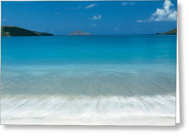 Tropical Island Greeting Cards - Magens Bay St Thomas Virgin Islands Greeting Card by Panoramic Images
