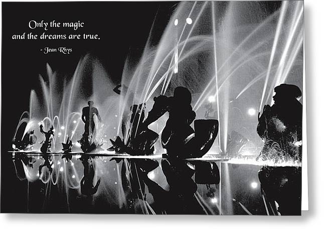 Magic And Miracles Greeting Card by Mike Flynn