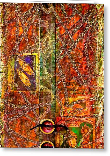 Magic Carpet Greeting Card by Bellesouth Studio