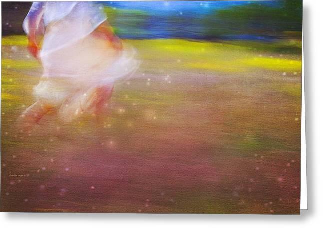 Theresa Leigh Photography Greeting Cards - Magic Meadow Greeting Card by Theresa Tahara