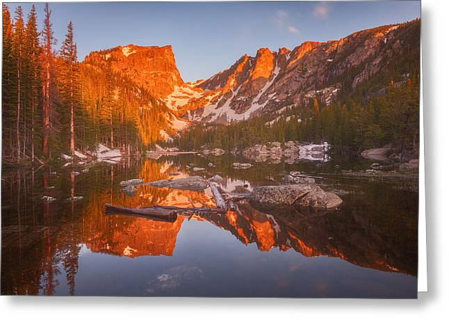 Rocky Mountain Prints Greeting Cards - Magic Morning Light Greeting Card by Darren  White