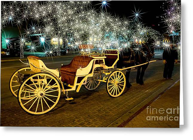 Magic Night Greeting Card by Jon Burch Photography