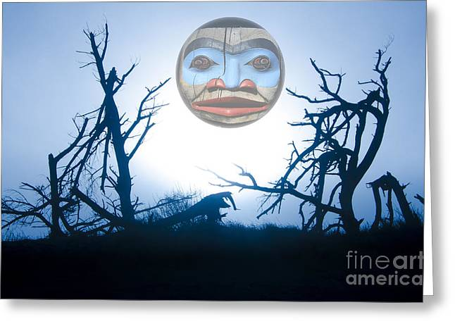 First Tribes Greeting Cards - Magic Of The Pacific Northwest 1      Greeting Card by Bob Christopher