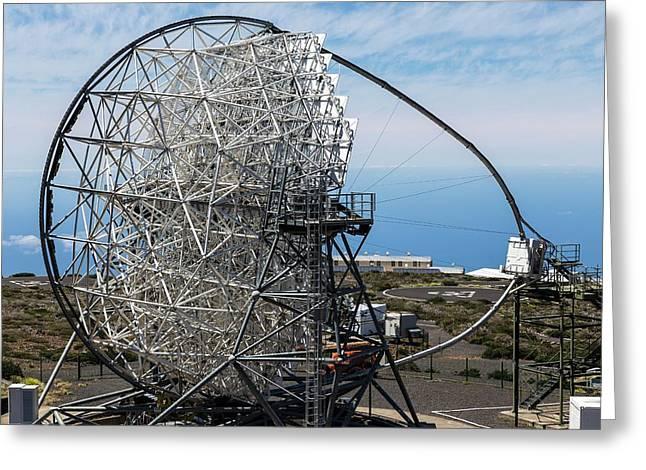 Magic Telescope Greeting Card by Alfred Pasieka