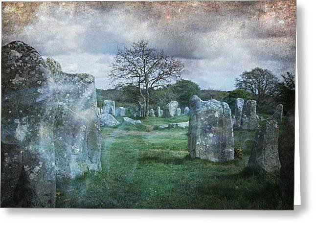 Historical Images Greeting Cards - Magical Brittany Greeting Card by Barbara Orenya