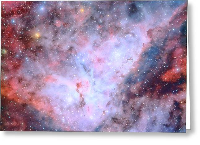 Interstellar Space Greeting Cards - Magical Carina Greeting Card by Nomad Art And  Design