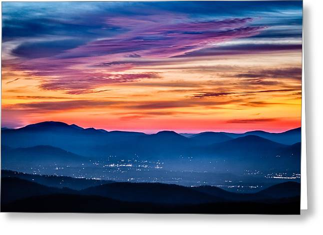 Interesting Clouds Greeting Cards - Magical Dawn Greeting Card by Rob Travis