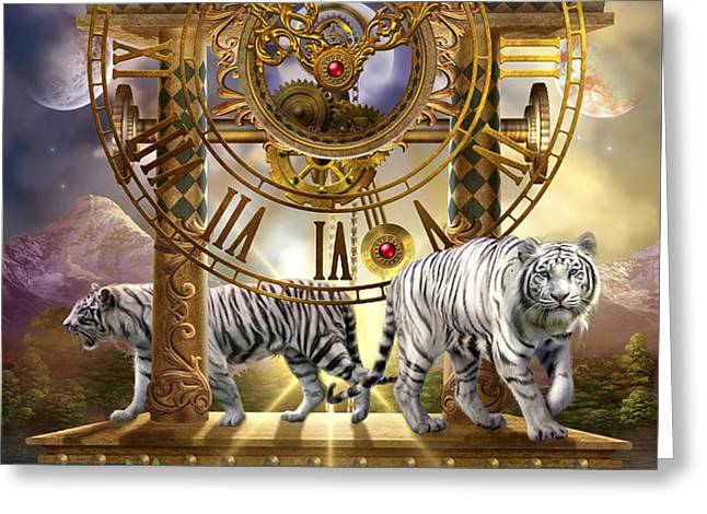 Magical Moment in Time Greeting Card by Ciro Marchetti