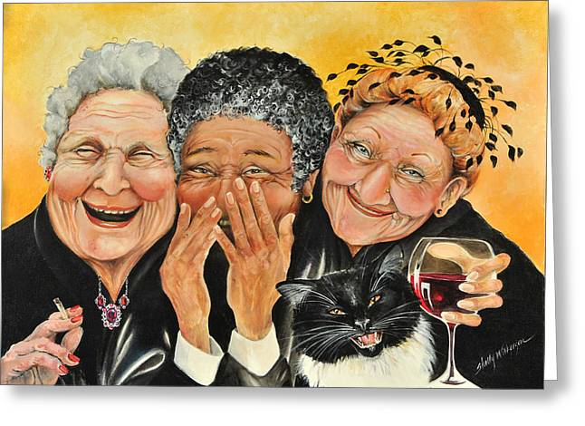 Laughing Greeting Cards - Magical Moment Greeting Card by Shelly Wilkerson