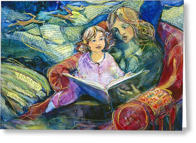 Magical Storybook Greeting Card by Jen Norton