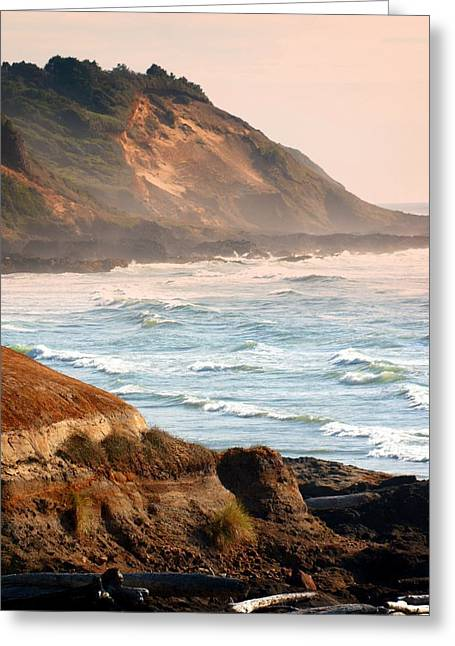 Magnificent Coast  Greeting Card by Marty Koch