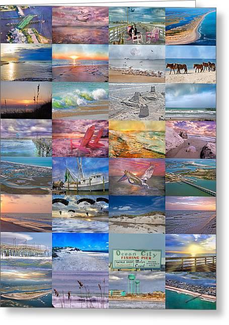 Shrimp Boat Greeting Cards - Magnificent Coastal North Carolina Greeting Card by Betsy C  Knapp