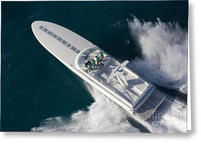 Speed Trials Greeting Cards - Magnum 70  Greeting Card by Magnum  Marine