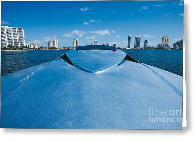 Speed Trials Greeting Cards - Magnum 80 Greeting Card by Magnum  Marine
