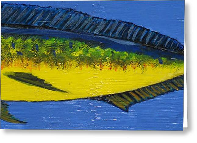 Mako Shark Greeting Cards - Mahi Greeting Card by Edward Walsh