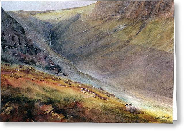 Www Greeting Cards Greeting Cards - Mahon Falls  The Comeraghs County Waterford Ireland Greeting Card by Keith W Thompson
