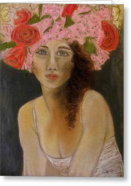 Beauty Pastels Greeting Cards - Mai Greeting Card by C Pichura